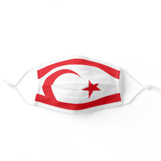 Northern Cyprus Flag Cloth Face Mask