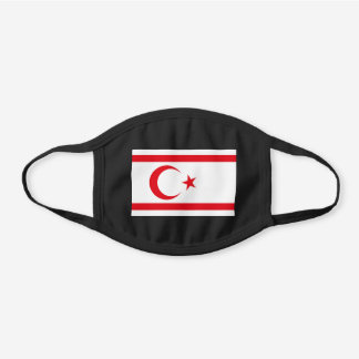 Northern Cyprus Flag Cotton Face Mask