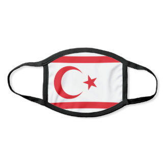 Northern Cyprus Flag Face Mask