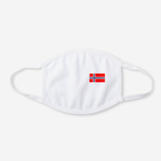 Norway Flag Reusable Face Mask
