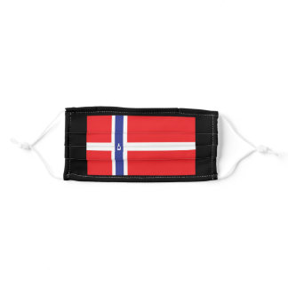 Norway Norway Flag Norway Gifts Adult Cloth Face Mask
