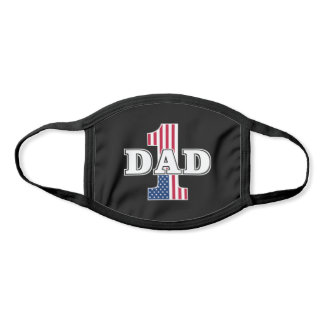 Number 1 Dad All Over Print Face Mask
