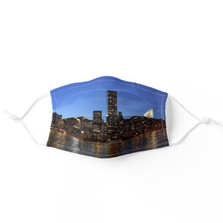 NYC New York City Manhattan Night Adult Cloth Face Mask
