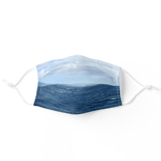 Ocean Waves Adult Cloth Face Mask