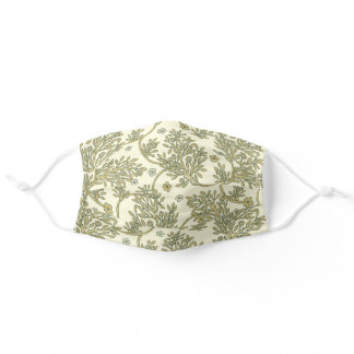 Old Fashioned Spring Floral Reusable Washable Adult Cloth Face Mask