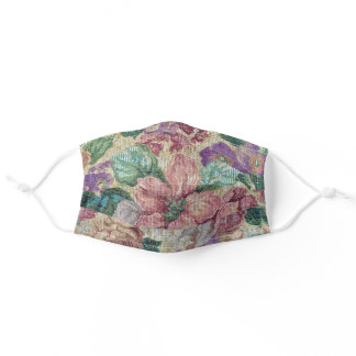old-fashioned tapestry adult cloth face mask