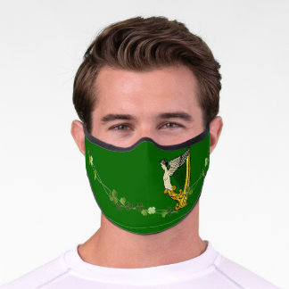 old School St Patrick Day Face Mask