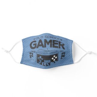 OldSchool Gamer Classically Trained Adult Cloth Face Mask