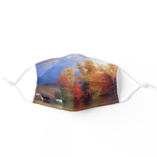 On the Saco Bierstadt Painting Adult Cloth Face Mask