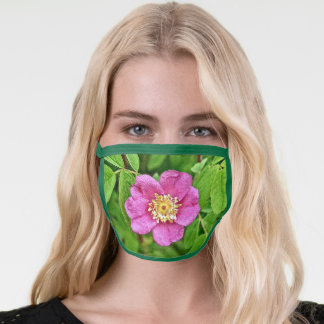 One Wild Rose Face Mask