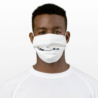 Open Wheel Racing Adult Cloth Face Mask