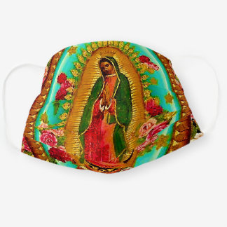 Our Lady Guadalupe Mexican Holy Saint Virgin Mary Cloth Face Mask
