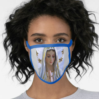 Our Lady of Fatima Cloth Mask Washable reusable