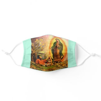 Our Lady of Guadalupe - Juan Diego Saint Image Adult Cloth Face Mask