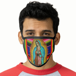 Our Lady of Guadalupe Mexico Face Mask
