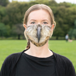 Owl Beak Adult Cloth Face Mask