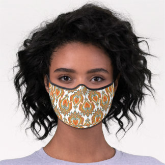 Paisley Colorful Premium Face Mask