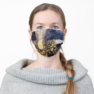Pallas Athena by Gustav  and George Klimt,Enhanced Adult Cloth Face Mask