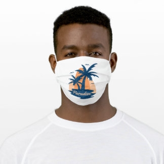 Paradise Adult Cloth Face Mask