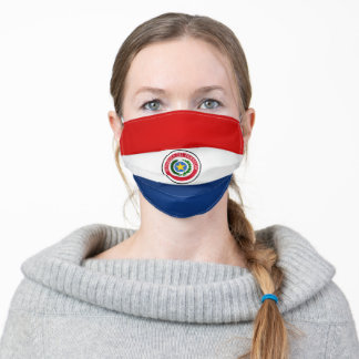 Paraguay Flag Adult Cloth Face Mask