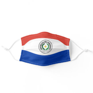 Paraguay Flag Cloth Face Mask