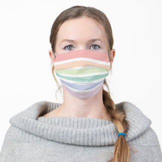 Patel Striped Face Mask