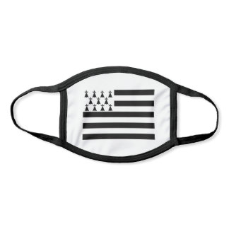 Patriotic Brittany Flag Face Mask