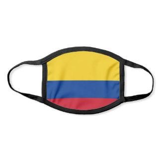Patriotic Colombia Flag Face Mask