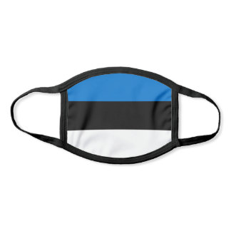 Patriotic Estonia Flag Face Mask
