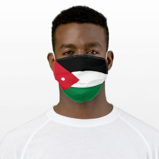 Patriotic Jordan Flag Adult Cloth Face Mask