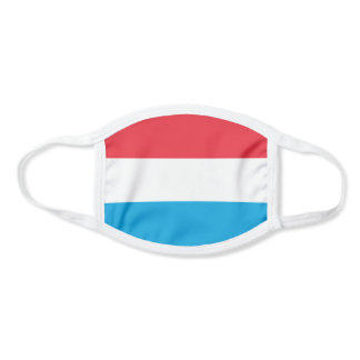 Patriotic Luxembourg Flag Face Mask