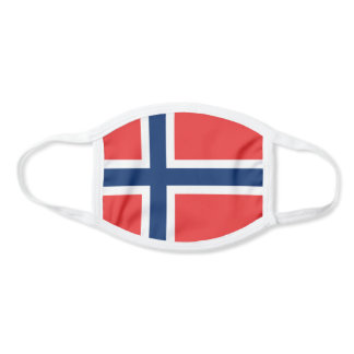 Patriotic Norway Flag Face Mask