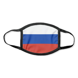 Patriotic Russia Flag Face Mask