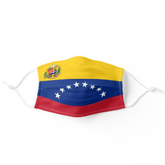 Patriotic Venezuela Flag Adult Cloth Face Mask