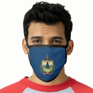 Patriotic Vermont State Flag Face Mask