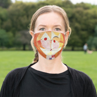 """""""Paul Klee Face Mask"""" Adult Cloth Face Mask"""