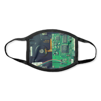 PCB board, electronic parts and printed circuit Face Mask