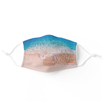 Peaceful Wave Adult Cloth Face Mask