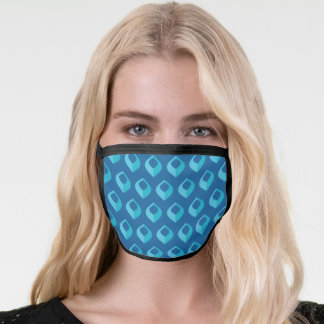 Peacock Feather icon Face Mask