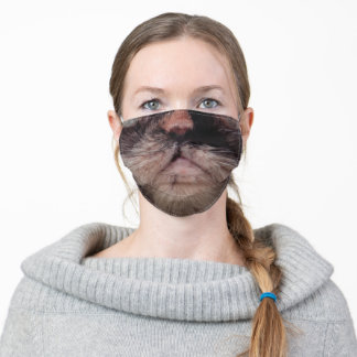 Persian Calico Cat Adult Cloth Face Mask