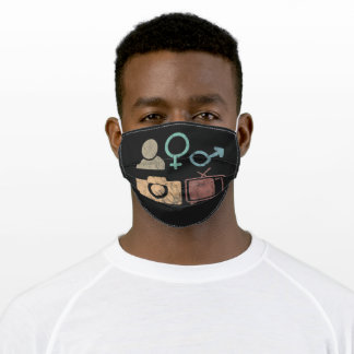 Person Woman Man Camera TV Symbol and icon Adult Cloth Face Mask