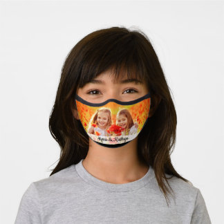 Personalized Family Photo Premium Face Mask