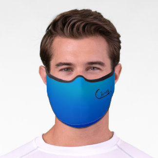 Personalized Fisherman Fish Hook Premium Face Mask