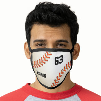 Personalized Name and Number Custom Baseball Face Mask