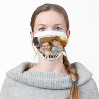 Personalized Photo Face Mask