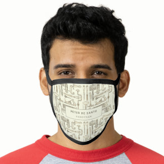 Personalized Vintage Tools Handyman Carpenter Face Mask
