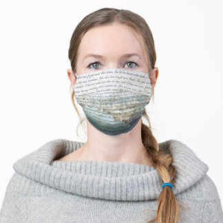 Persuasion Letter Adult Cloth Face Mask