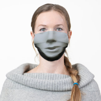 Phantom Mannequin Adult Cloth Face Mask