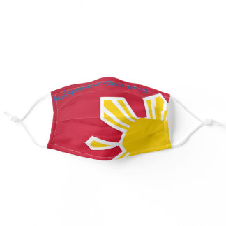 Philippine Flag Sun Independence Day Adult Cloth Face Mask
