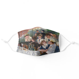 Pierre-Auguste Renoir - Luncheon of Boating Party Adult Cloth Face Mask
